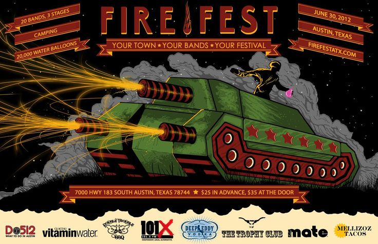 @FireFestAustin @ovrld... You guys rock can't wait for Saturday's Festival!