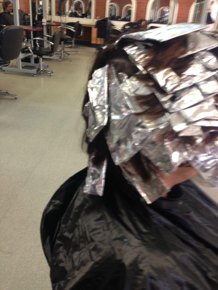 Scattered foil pattern