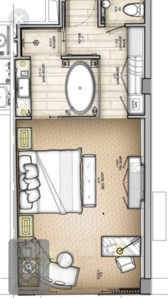 Pin By Architecture On Loft Conversion Master Bedroom Layout Master Bedroom Plans Hotel Room Plan