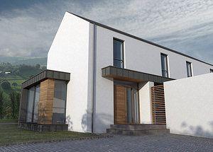 Marshall McCann Architects NI Northern Ireland, Passive house, Zero Carbon House, Contemporary Irish house, Contemporary Irish Architecture,