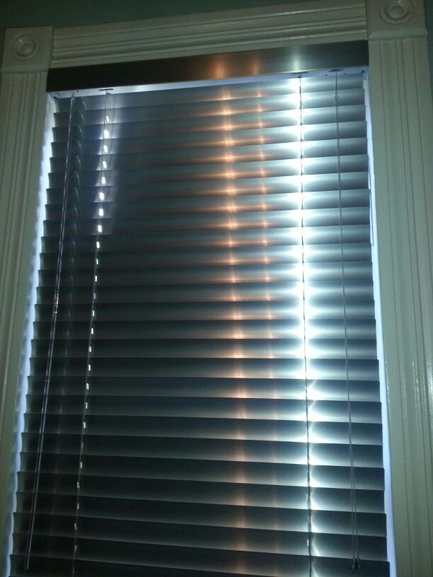 Stainless Steel Blinds So Elegant New Kitchen Home