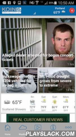 """KOIN 6 Portland News, Weather  Android App - playslack.com ,  KOIN 6 is """"Watching Out For You"""" in Portland, Oregon with the highest quality journalism, accurate weather and traffic reports and investigations that dig deep into the area's biggest issues. Now, experience KOIN 6 on the go with the all new app featuring: - Breaking news, severe weather and school closing alerts- Live streaming video of all newscasts- Easy navigation to quickly search for top stories and news that interests you…"""