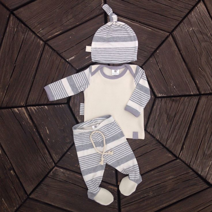 Gray Newborn Stripes Going Home Outfit *Baby Boy Hospital Outfit *Take Home Outfit *Hat, Shirt, Footie Leggings *by BeeBoppinBaby by BeeBoppinBaby on Etsy https://www.etsy.com/listing/478361639/gray-newborn-stripes-going-home-outfit