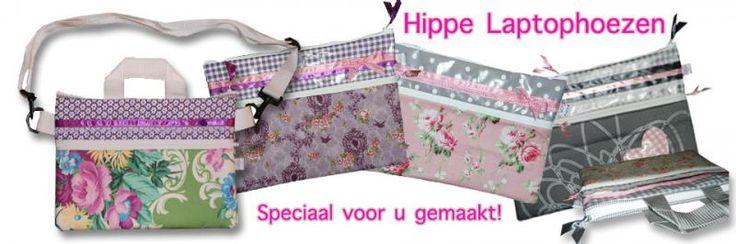 Laptop sleeve's en laptoptassen gemaakt door: www.hippe-laptophoes.nl