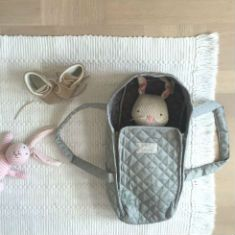 The cutest doll's lift ever from Cam Cam Copenhagen. We absolutely love it and so does Rita Rabbit from Peppa.
