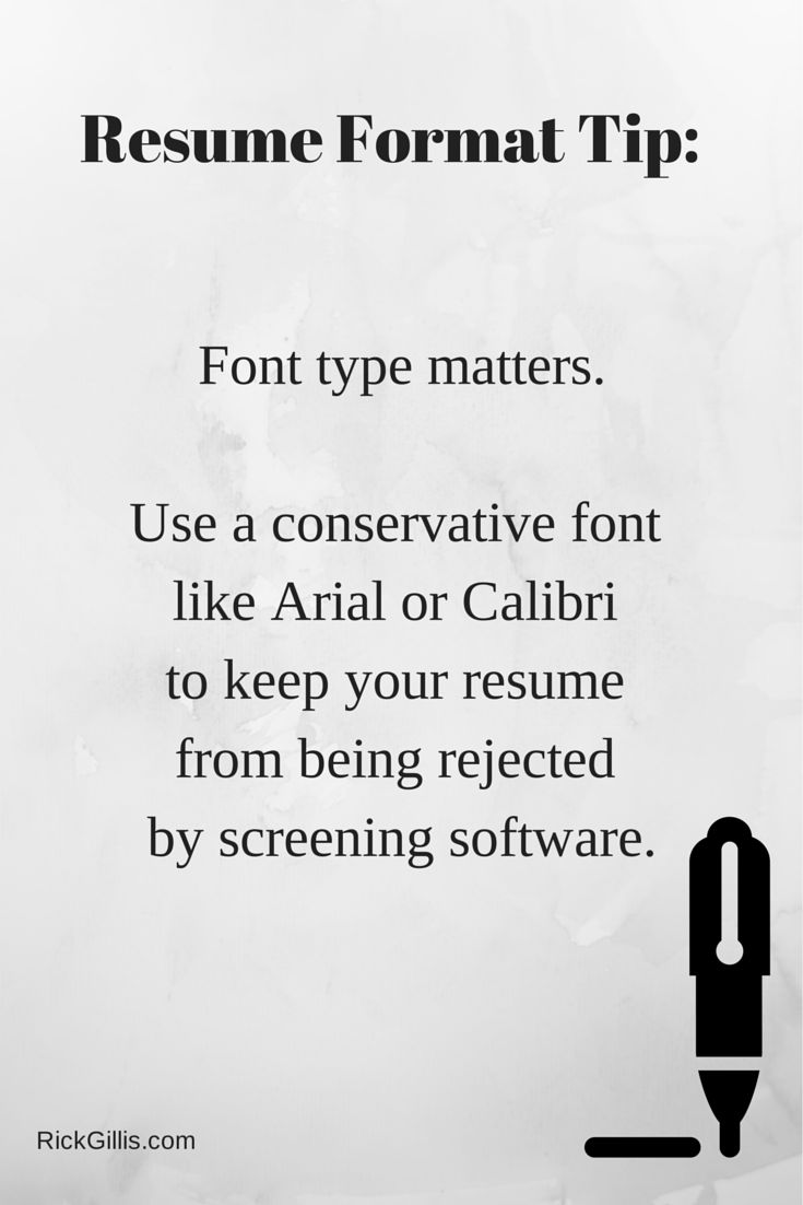 8 Best Resume Formatting Tips Images On Pinterest Job Search