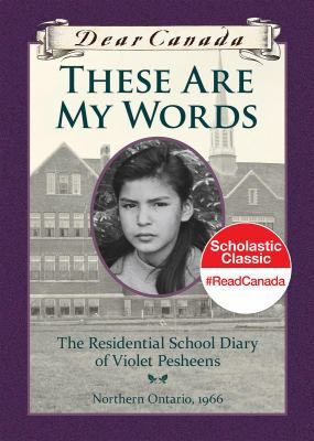 Twelve-year-old Violet Pesheens is taken away to Residential School in 1966. The diary recounts her experiences of travelling there, the first day, and first months, focusing on the everyday life she experiences--the school routine, battles with Cree girls, being quarantined over Christmas, getting home at Easter and reuniting with her family.