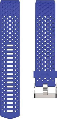 Fitbit - Sport Wristband for Fitbit Charge 2 Activity Trackers - Large - Cobalt (Blue)