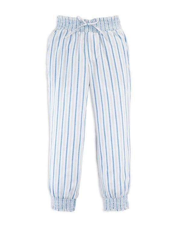 Ralph Lauren Girls' Striped Pants - Sizes 2-6X