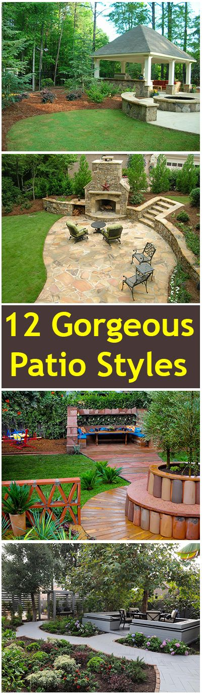 12 Gorgeous Patio Styles