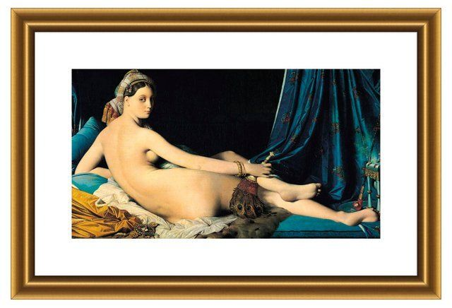 la grande odalisque and manets olympia essay From francisco de goya's the nude maja to jean-auguste-dominique ingres'  grande odalisque to edouard manet's olympia, the female.