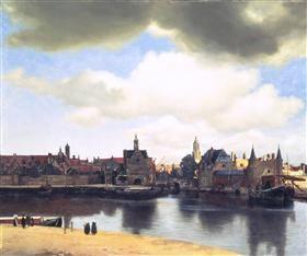 View on Delft - Johannes Vermeer