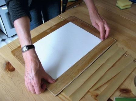 The importance of stretching Water Colour paper