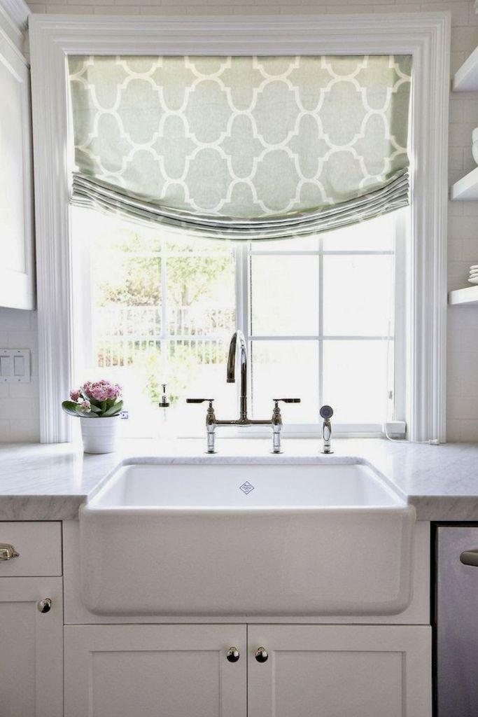 Best 100 Beautiful Kitchen Window Design Ideas 105 White 400 x 300