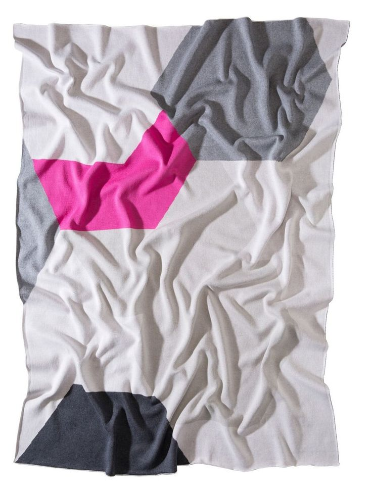 kate and kate atlantic throw / pink and grey blanket / large soft throw for your living room / Australian designer homewares