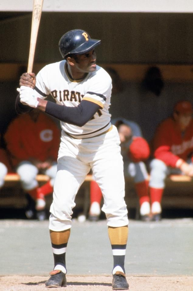 Roberto Clemente - Pittsburgh Pirates. 12 time Gold Glove, 4 time MLB Bating Champ, Humanitarian. Lost to the world 12/31/72