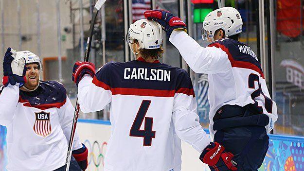 Team USA Hockey Live Blog: U.S. Cruises To 7-1 Win Over Slovakia In OlympicDebut - CBS Boston