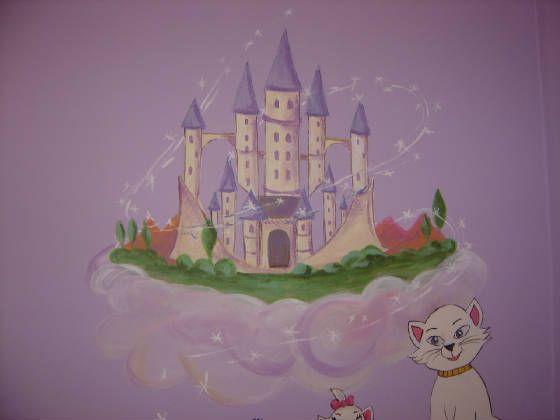 Princess Mural,Murals,Kids Mural,Childrenu0027s Wall Mural,Nursery Murals,Murals Part 32