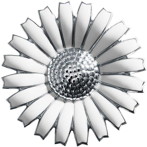 Georg Jensen Daisy Brooch/Pendant ❤ liked on Polyvore featuring jewelry, pendants, georg jensen, charm pendant, daisy pendant, pendant jewelry and daisy jewelry