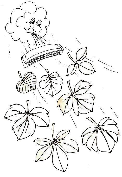 L'automne joue de l'armonica