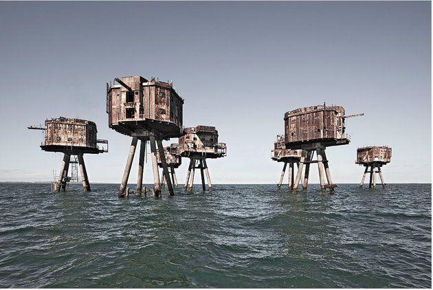 Sistemas britânicos de defesa aérea abandonados