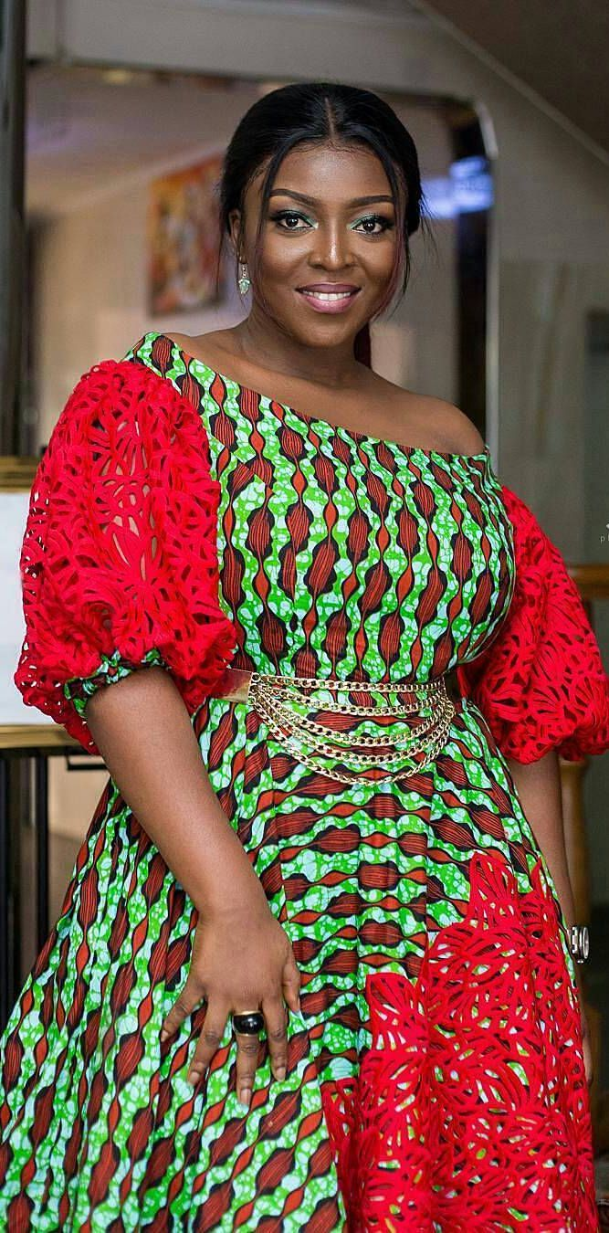 Yvonne Okoro looking cute in ankara prints, African fashion, Ankara, kitenge, African women dresses, African prints, African men's fashion, Nigerian style, Ghanaian fashion, ntoma, kente styles, African fashion dresses, aso ebi styles, gele, duku, khanga, vêtements africains pour les femmes, krobo beads, xhosa fashion, agbada, west african kaftan, African wear, fashion dresses, asoebi style, african wear for men, mtindo, robes de mode africaine.