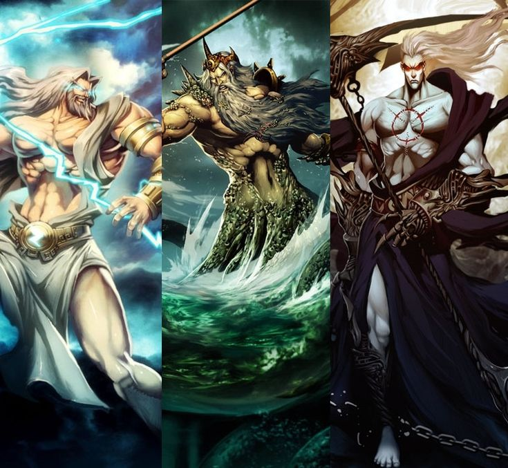 zeus and hades Zeus, poseidon, and hades were able to kill cronus and cast him away to tartarus after defeating cronus they split the earth into three parts, the sea, sky, and underworld zeus chose the sky, poseidon chose the sea, and hades got the underworld.