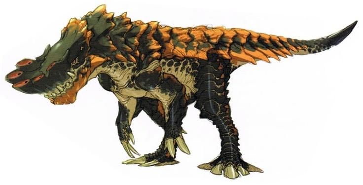 .Monster Hunter - Barroth Concept ✤ || CHARACTER DESIGN REFERENCES |