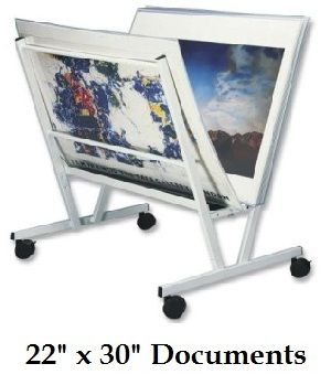"""Floor Poster Display (22"""" x 30"""") Includes: 15 Poster Sleeves"""