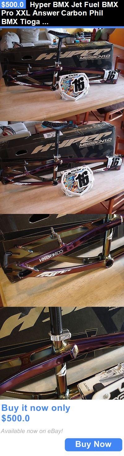 bicycle parts: Hyper Bmx Jet Fuel Bmx Pro Xxl Answer Carbon Phil Bmx Tioga S-Spec Box Component BUY IT NOW ONLY: $500.0