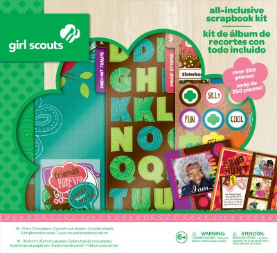 ScrapbookingLiving Better, Scrapbook Kits, Girls Generation, Girl Scouts, Scouts Crafts, Low Price, Girls Scouts Scrapbook, Scrapbook Album, Brownies Girls