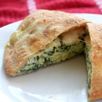 Green Calzone  Other Zucchini Recipes