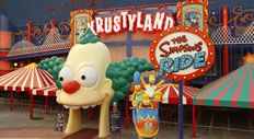 """The Simpson's Ride at Universal Studios Orlando.  """"Welcome to a magical journey through my mouth!"""""""