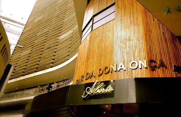 Roteiro Arquitetura de São Paulo - Bar da Dona Onça, Copan