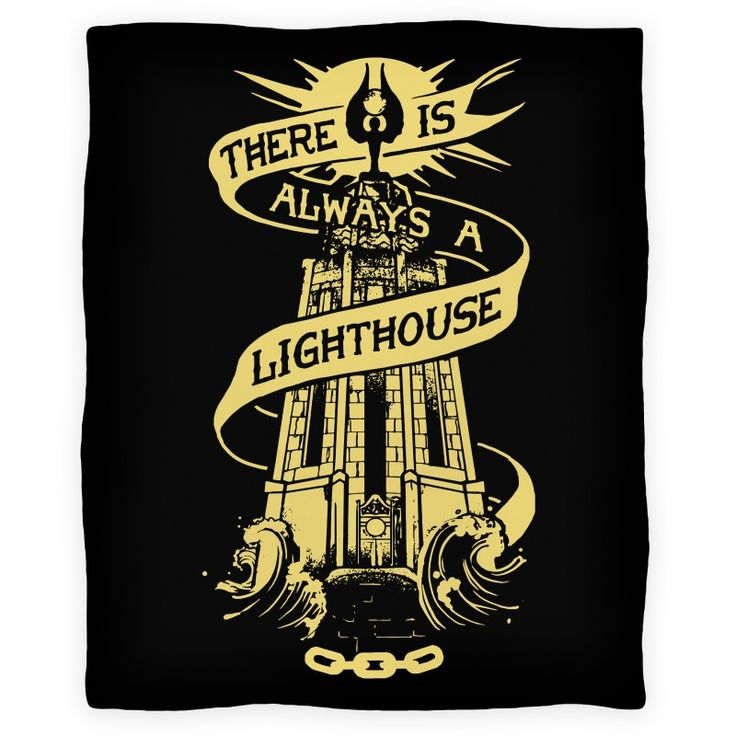 There Is Always A Lighthouse Blanket Bioshock