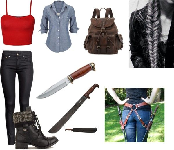 nice zombie apocalypse outfit polyvore costume