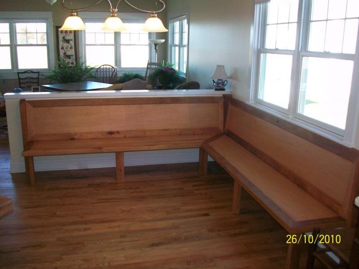 Corner Kitchen Tables With Bench Seating ~ Corner bench seating for kitchen ballard designs