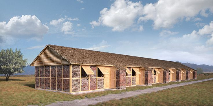 Shigeru Ban's Nepalese Emergency Shelters to be Built from Rubble