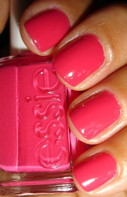 """Essie - """"Watermelon"""" Just painted my nails this color!"""