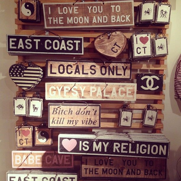 DIY Brandy Melville signs ~ you can write in it anything you want! have fun creating :)
