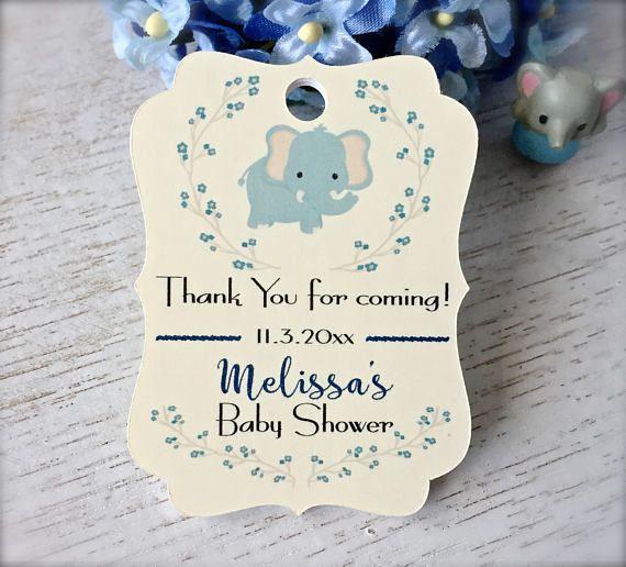 Etiquetas de ducha de bebé babyshower niño gracias
