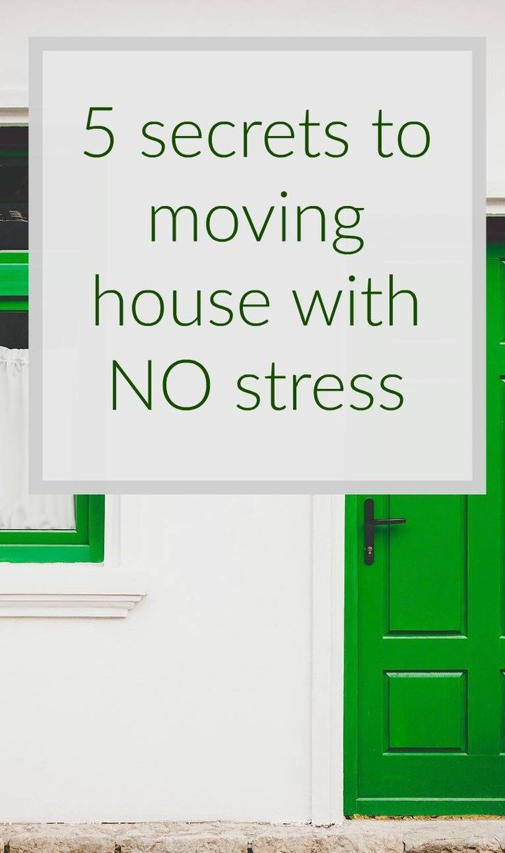 Moving house with NO stress - the stress free guide to moving house