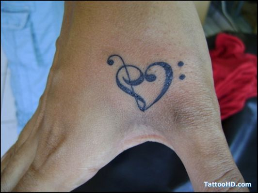 cross hand tattoo , Hand Tattoos