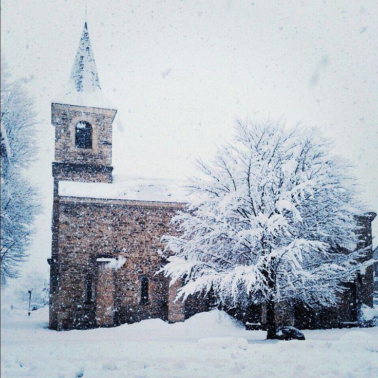 Jour de neige dans le sud de la France