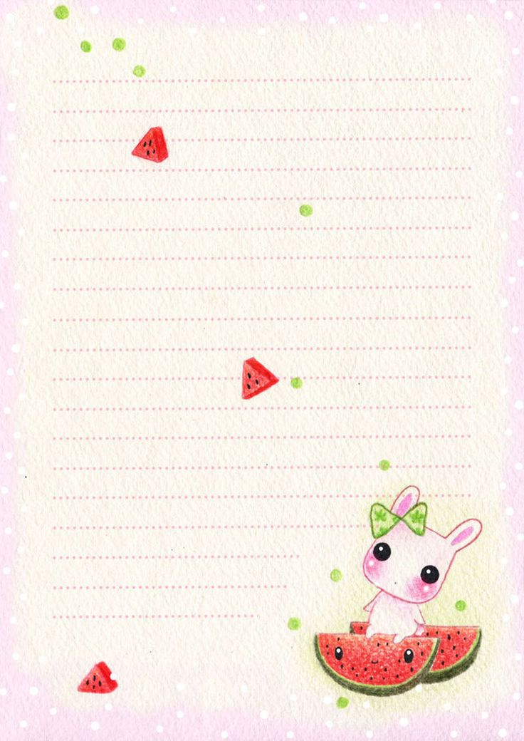 "I'm still in artblock, just an old work Download for larger size Letter paper again ""Milly and kawaii fruits"", designed for size 1/2 A4 Feel free to use (personally, no commercial pls). Pls DO NOT ..."