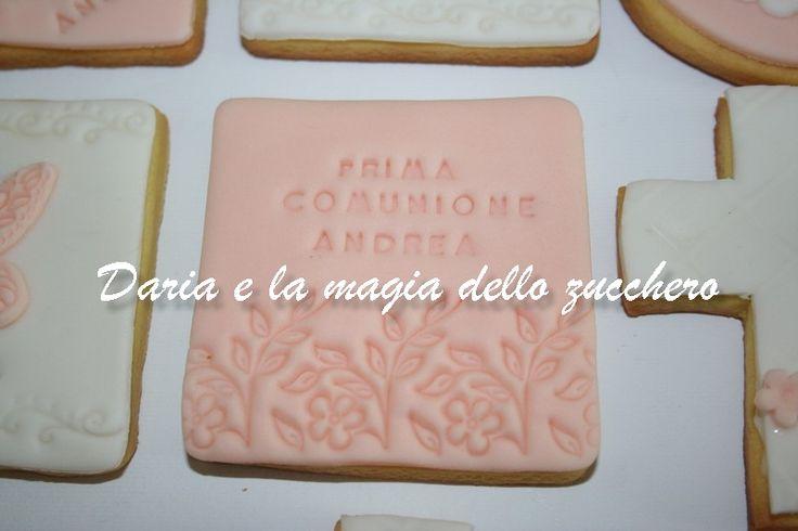 #Biscotti prima comunione #First communion cookies