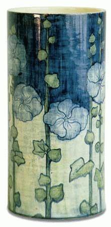 A Newcomb art nouveau pottery vase