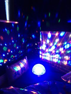 Irish Autism Action: Sensory room on a budget using our Sensory Globe