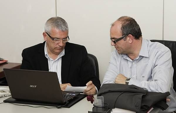 Manuel Marcos y Anselmo Pestana