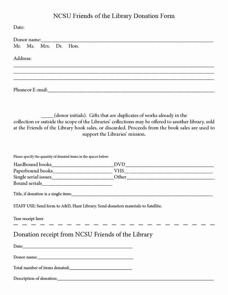Charitable Donation Receipt Template Unique 40 Donation Receipt Templates & Letters [goodwill ...